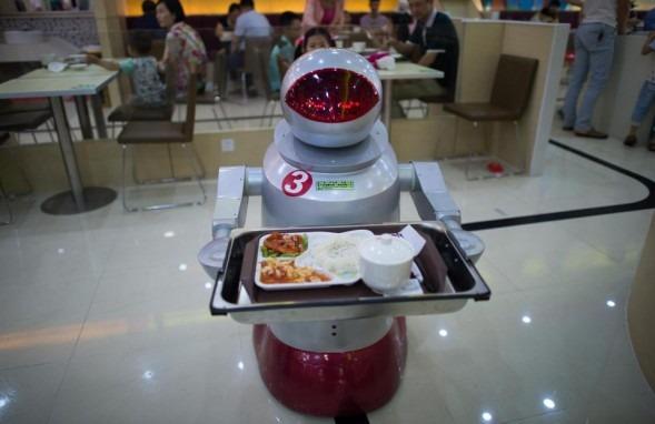 robotcamarero
